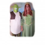 Shrek and Fiona