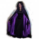 Gothic with Purple cloak