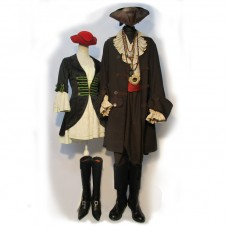 Men's Pirates Fancy Dress and Theatrical Costumes