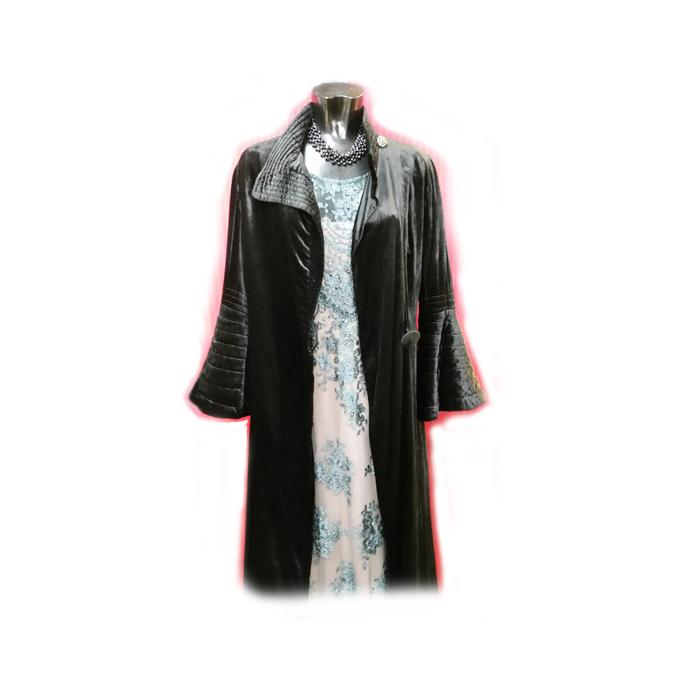 Vintage Velvet evening coat