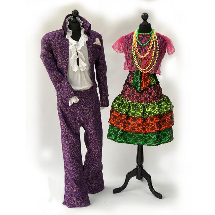 Prince and Cyndi Lauper