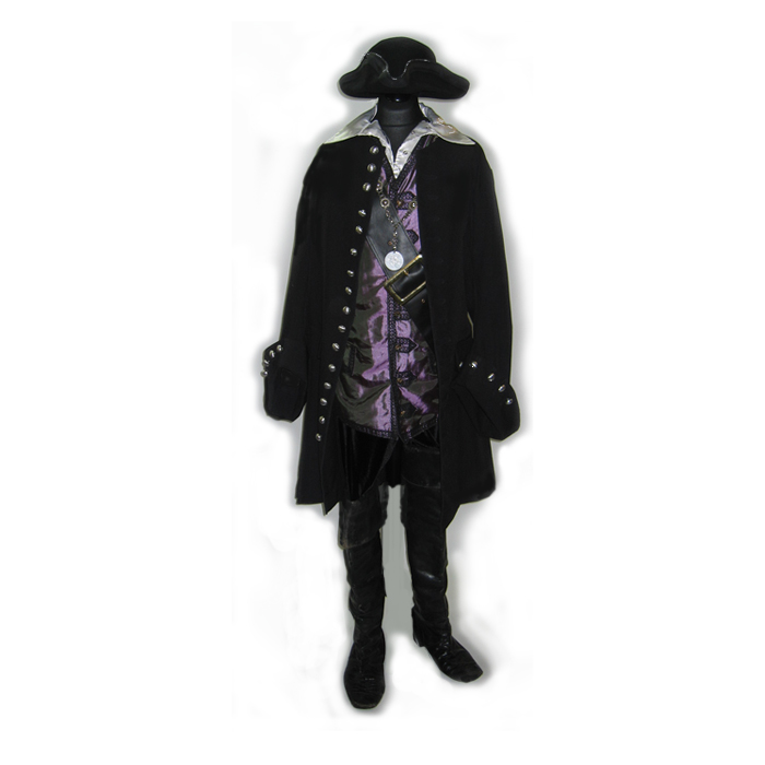 Pirate Captain with thigh boots