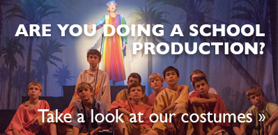 School Productions? Take a look at our costumes